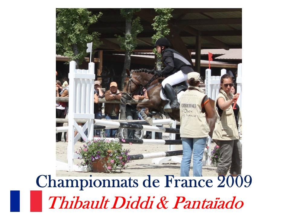 Championnats de France 2009 Thibaud Diddi sur Pantaïado