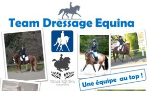 Le Team Dressage EQUINA